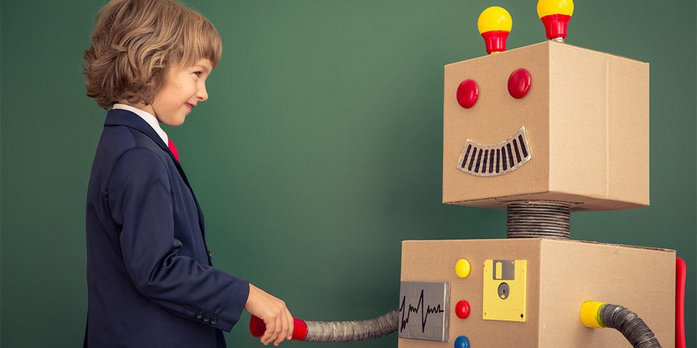 Digitalni marketing, bihevioralni marketing, neuromarketing, psihologija, djetinjasti, robot